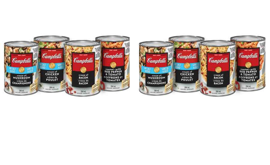 Campbell Company of Canada Cooking Condensed soups