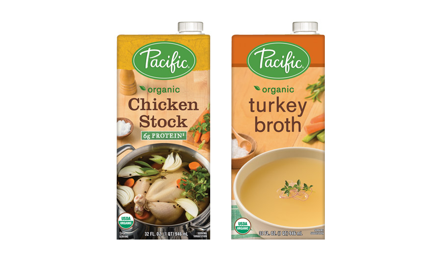 Pacific Foods Organic Chicken Stock and Turkey Broth