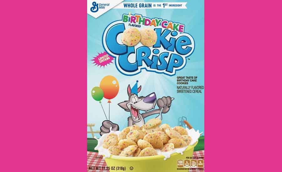 Birthday Cake Cookie Crisp