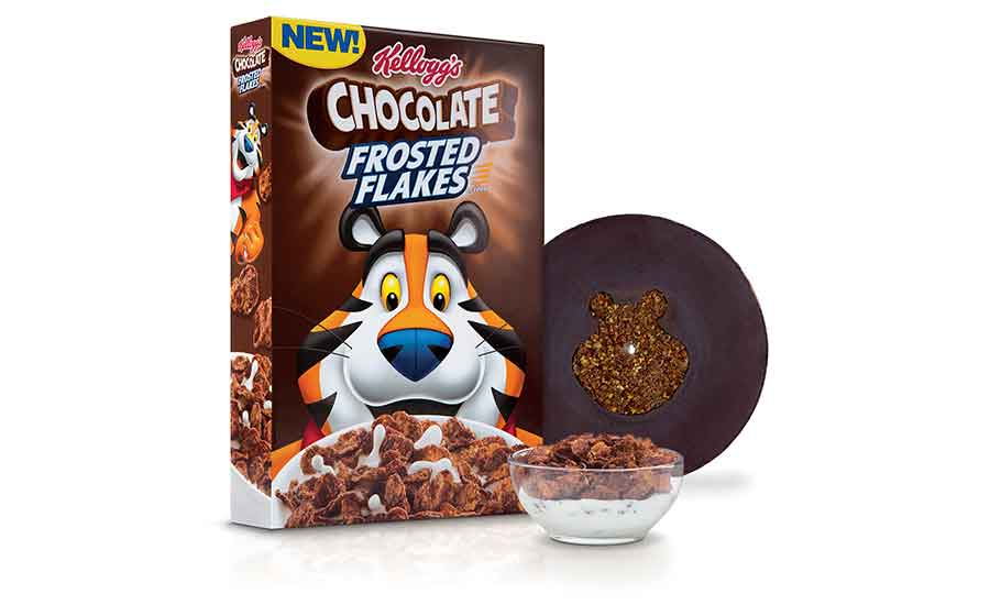 Kellogg's Chocolate Frosted Flakes Edible Vinyl