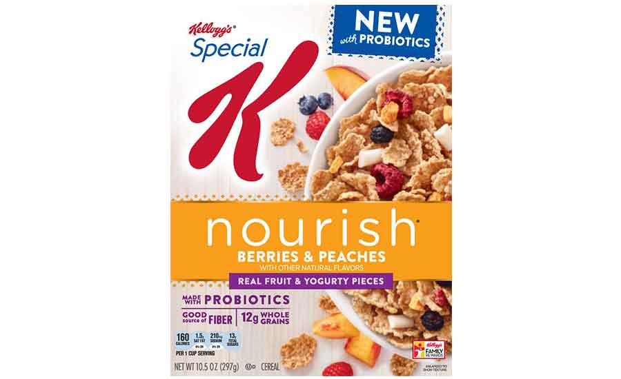 Special K Nourish Berries & Peaches with Probiotics