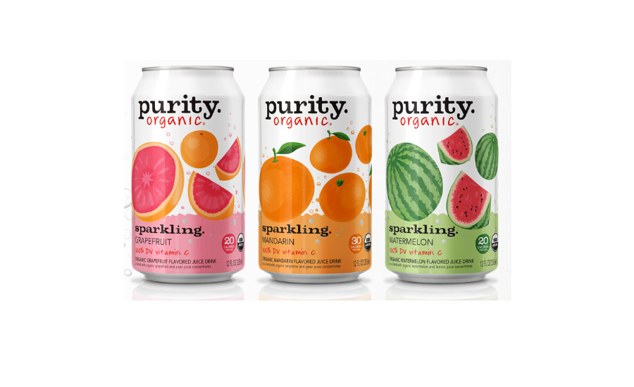 Purity Organic Sparkling Line