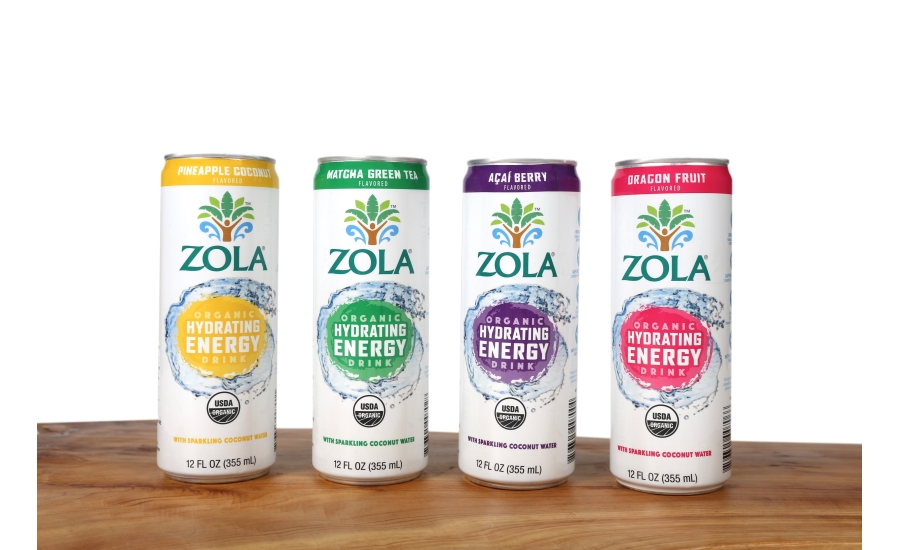 Zola Organic Hydrating Energy Drinks