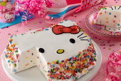 Hello Kitty The Ice Cream Cake 2015 03 27 Prepared Foods