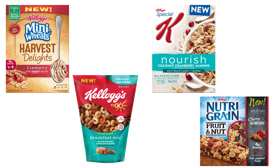 Kellogg Launches New Product Collection