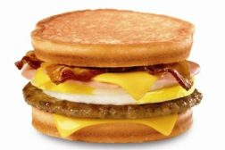 Jack in the Box Loaded Sandwich