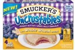 Uncrustables Sandwiches