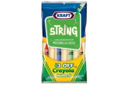 Kraft Crayola String Cheese