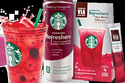 Starbucks Debuts Refreshers 2012 07 10 Prepared Foods