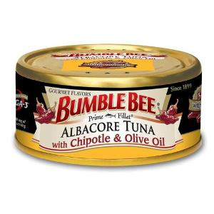 Bumble Bee Gourmet Tuna with Olive Oil in body