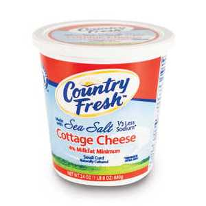 Cottage Cheese with Sea Salt in body