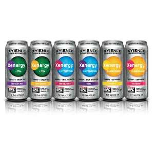 Xyience Energy Drinks in body