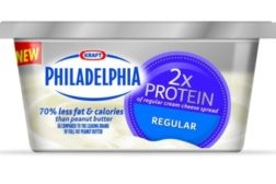 Philadelphia Double Protein Cream Cheese feat