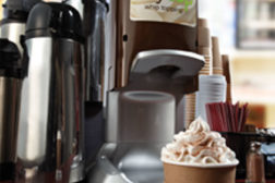whipped topping machine