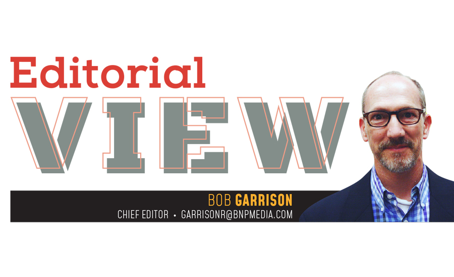 Editorial View: Bob Garrison