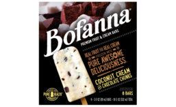 Bofanna Frozen Fruit Cream Bars