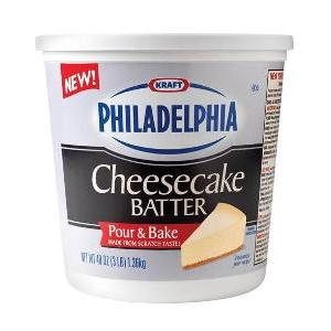 Philadelphia Cheesecake Batter in body