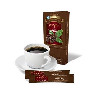 Prebiotic coffee in body