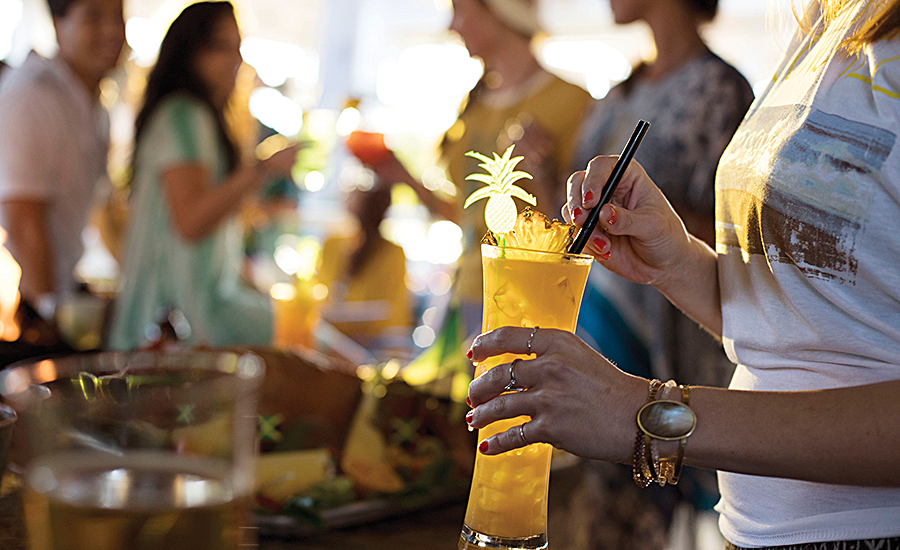 Bahama Breeze's Reggae Fest in July featured the One Love cocktail
