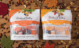 Orchard Valley Harvest Wellness snack mixes with health benefits