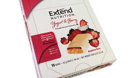 Extend Nutrition Yogurt & Berry bars that helps control blood glucose