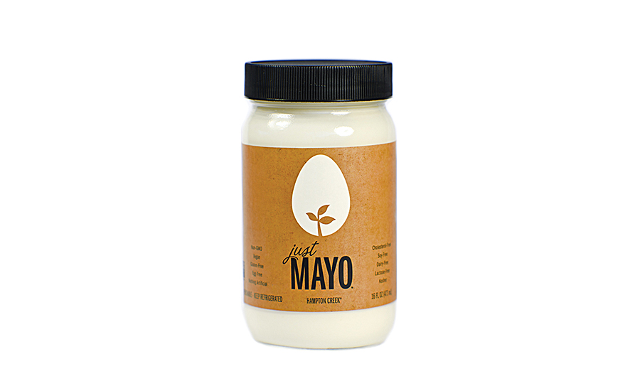 Combinations such as modified food starch plus pea protein can replace the fat from egg yolks in products such as mayonnaise analogs