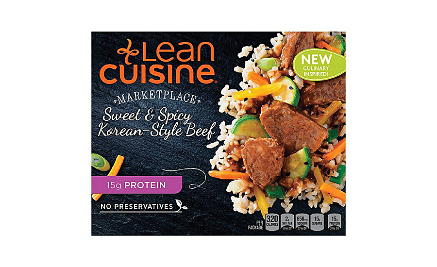 Nestle Prepared Foods' Lean Cuisine has new packaging and new offerings that downplay diet and promote healthier ingredients