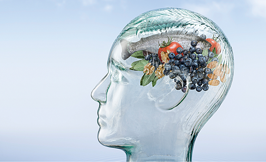 Food for improving brain health and cognitive function