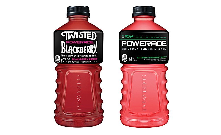 Powerade functional beverage with added vitamins