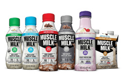 Different flavors of muscle milk