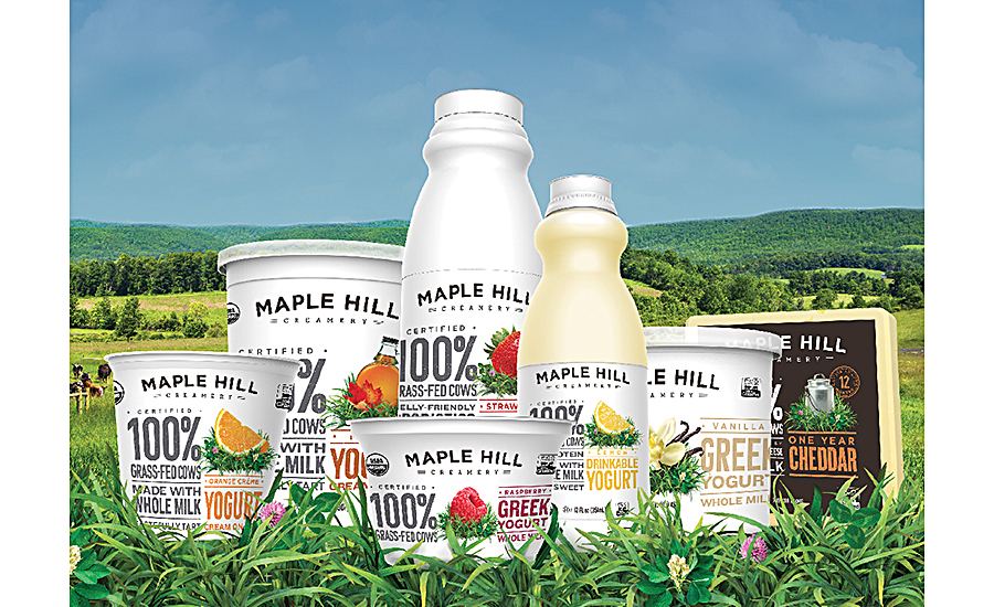 Maple Hill Creamery dairy products lineup