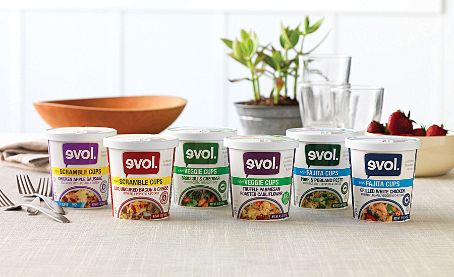 EVOL introduced a line of on-the-go CUPS