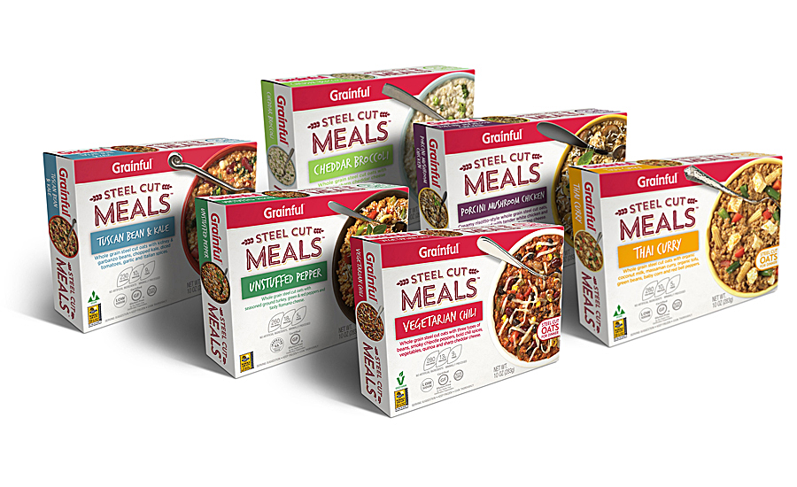 Grainful expanded its Steel Cut Meals frozen entree line with new varieties