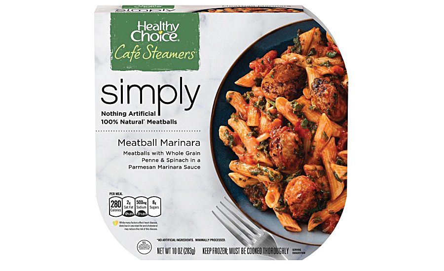 Healthy Choice Cafe Steamers line of Simply frozen meals