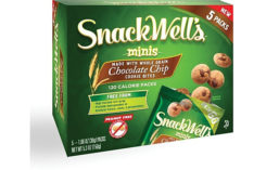Snackwell's Minis chocolate chip cookie bites embraces the mini trend in baked goods