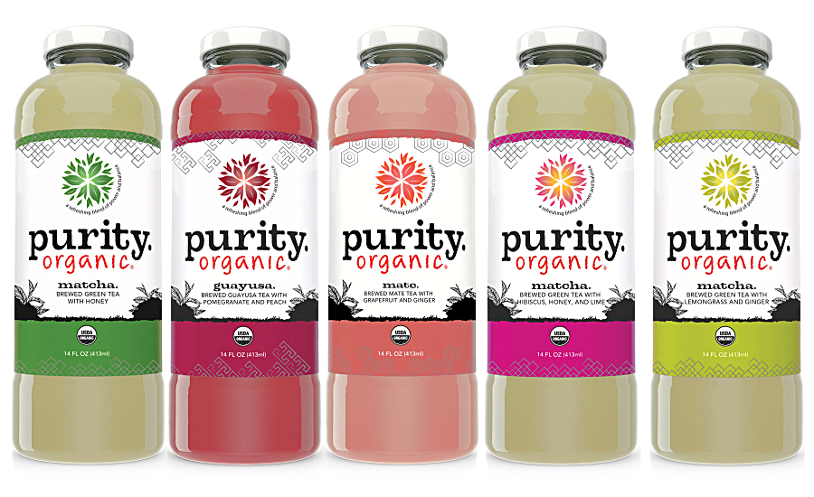Purity Organic super-premium ready-to-drink teas