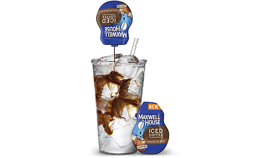 Maxwell House Iced Coffee Concentrates provide a jolt of iced java for on-the-go consumers