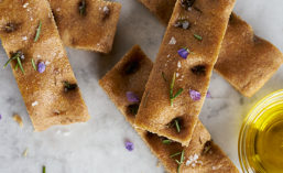 Focaccia is a flat oven-baked Italian bread product
