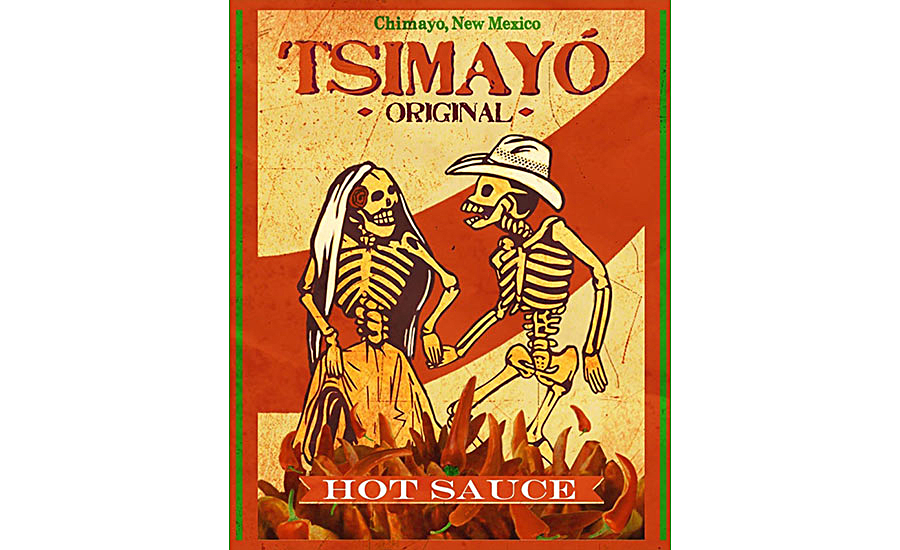Tsimayo Sauce made with Chimayo chile peppers