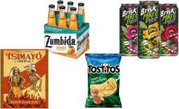 Hispanic-style foods, drinks