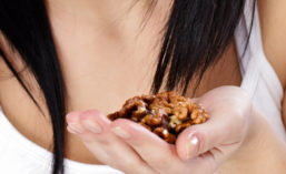 Fake nuts can be as intricate as modified wheat gluten, or as simple as toasted whole grains