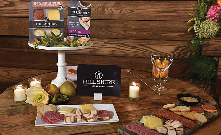 Tyson Foods' Hillshire Snacking protein snack brand