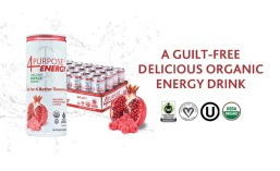 4 Purpose organic energy drink