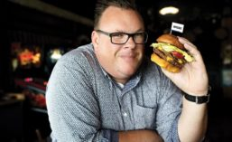 Chef Chris Shepherd introduced the Impossible Burger at his Houston restaurants Underbelly and The Hay Merchant