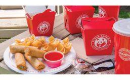 Panda Express Food and Boxes