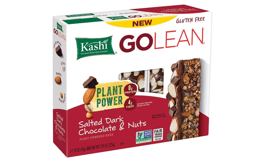 Kashi GoLean plant-based nutrition bars