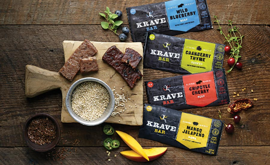Krave meat snack bars