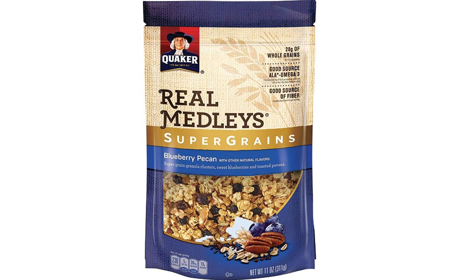 Quaker Oats Real Medleys Granola