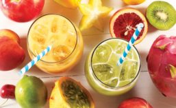 Fruit and fruit-based beverage formulations