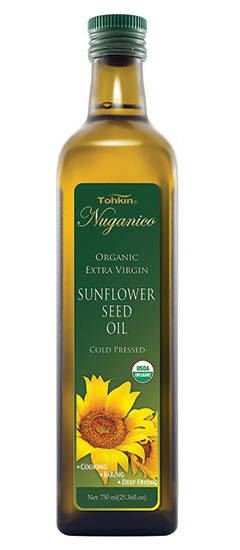 Sunflower oil is light in flavor and high in natural antioxidants
